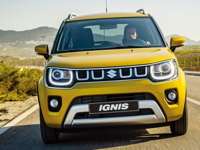 Nouvelle Suzuki Ignis Jaune